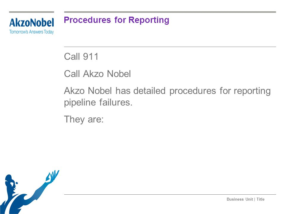 Procedures for Reporting