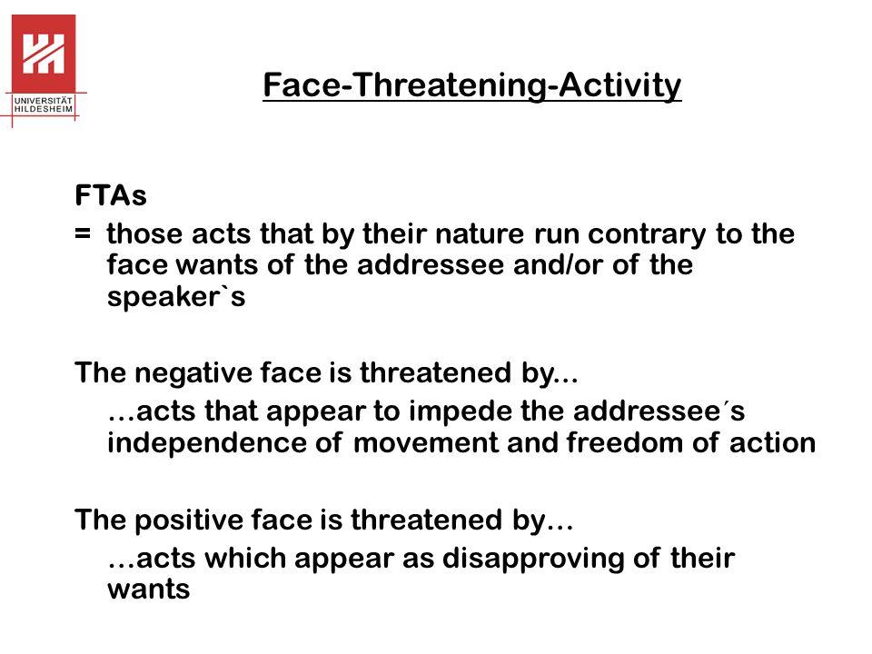 Face-Threatening-Activity