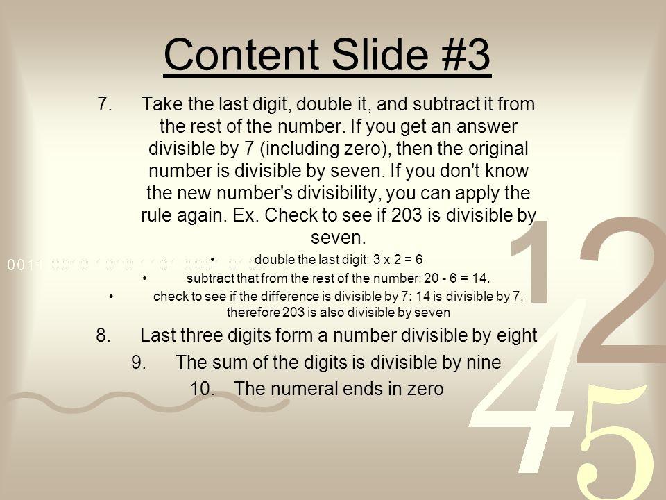 Content Slide #3