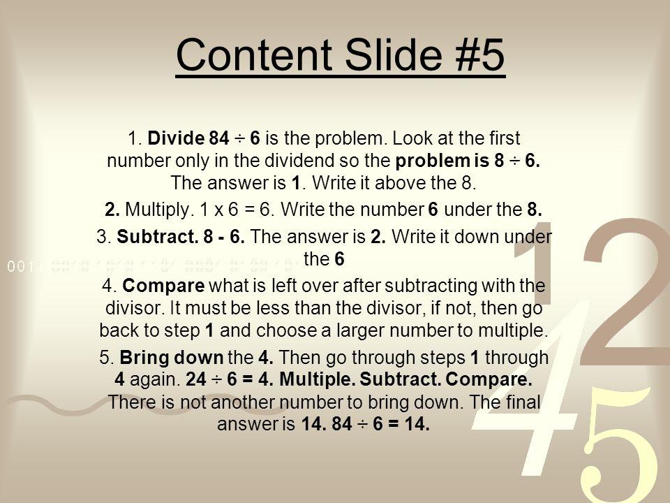 Content Slide #5