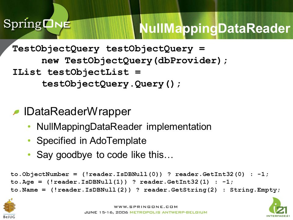 NullMappingDataReader
