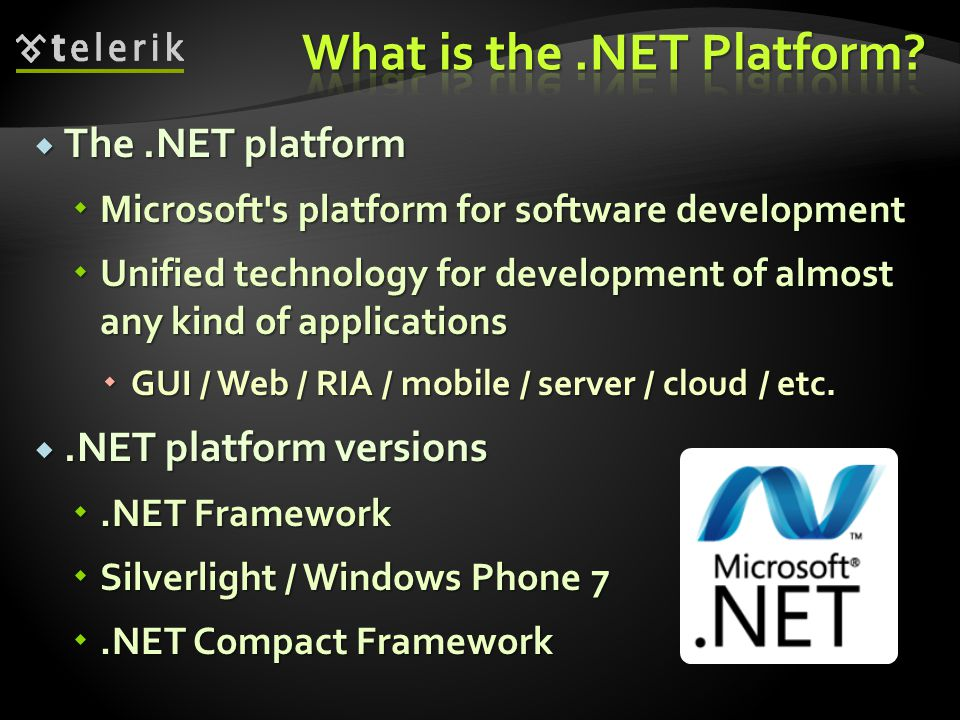 What is the .NET Platform