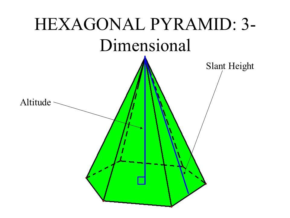 HEXAGONAL PYRAMID: 3-Dimensional