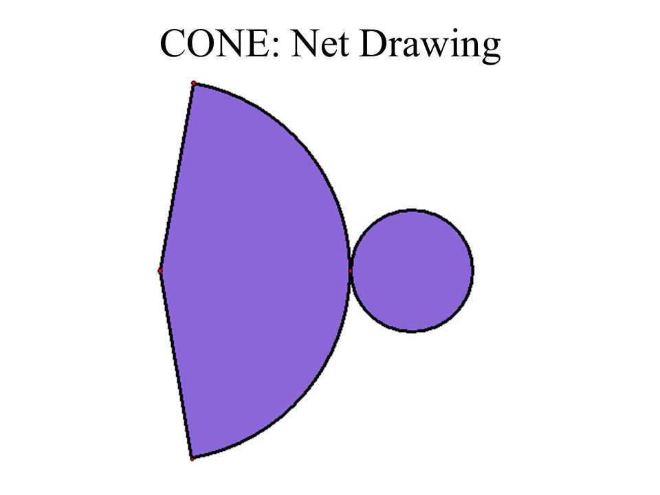 CONE: Net Drawing