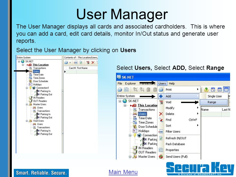 User Manager