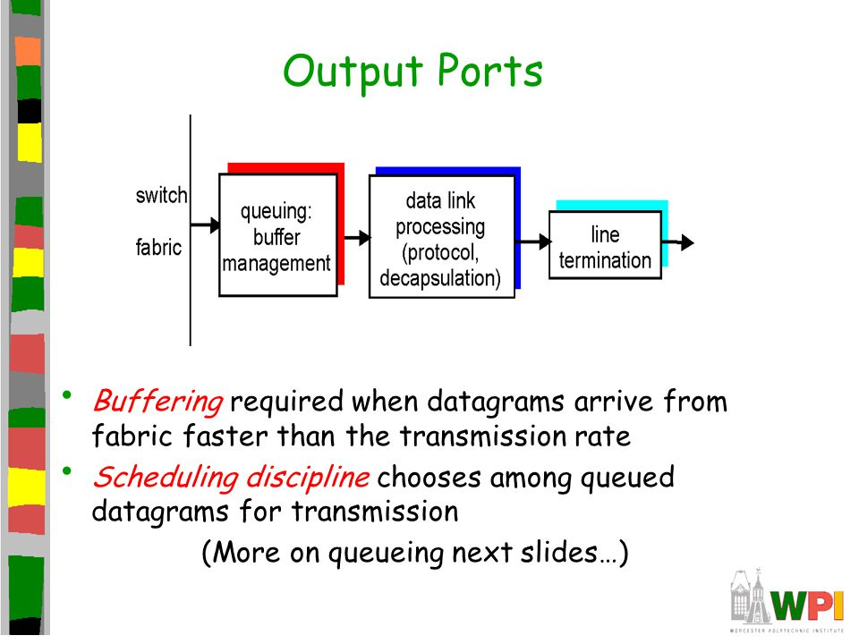 (More on queueing next slides…)