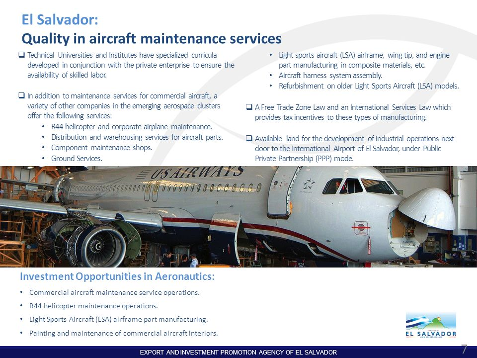 Quality in aircraft maintenance services