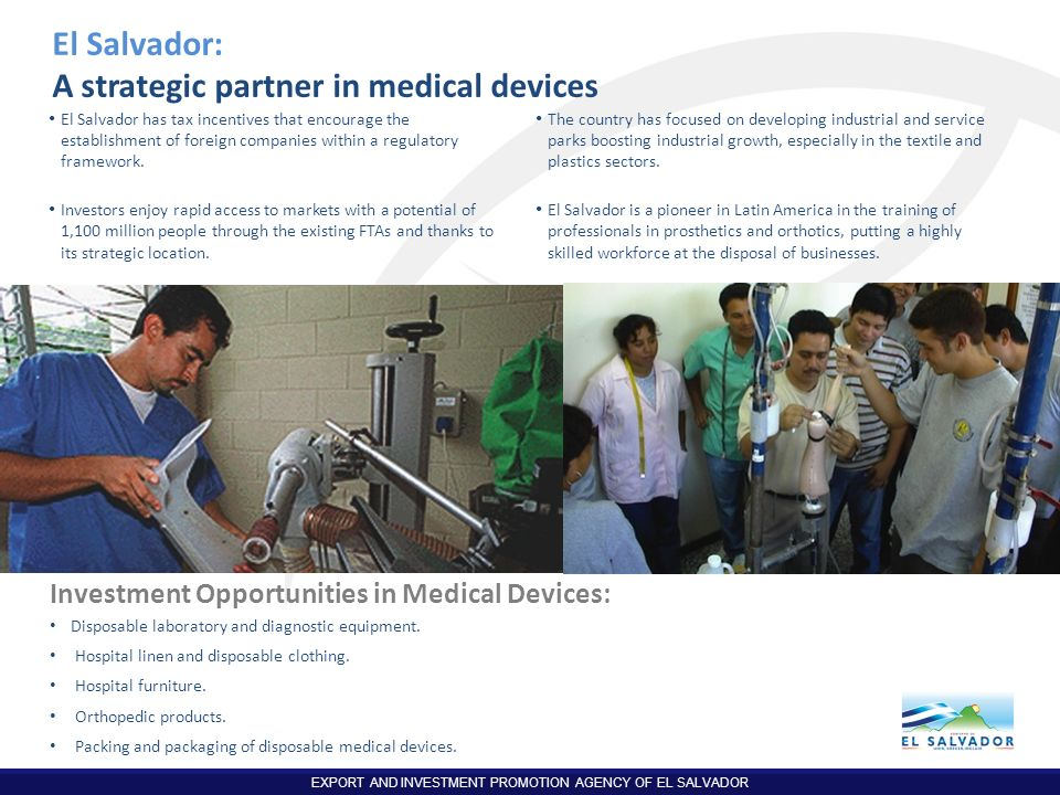 A strategic partner in medical devices