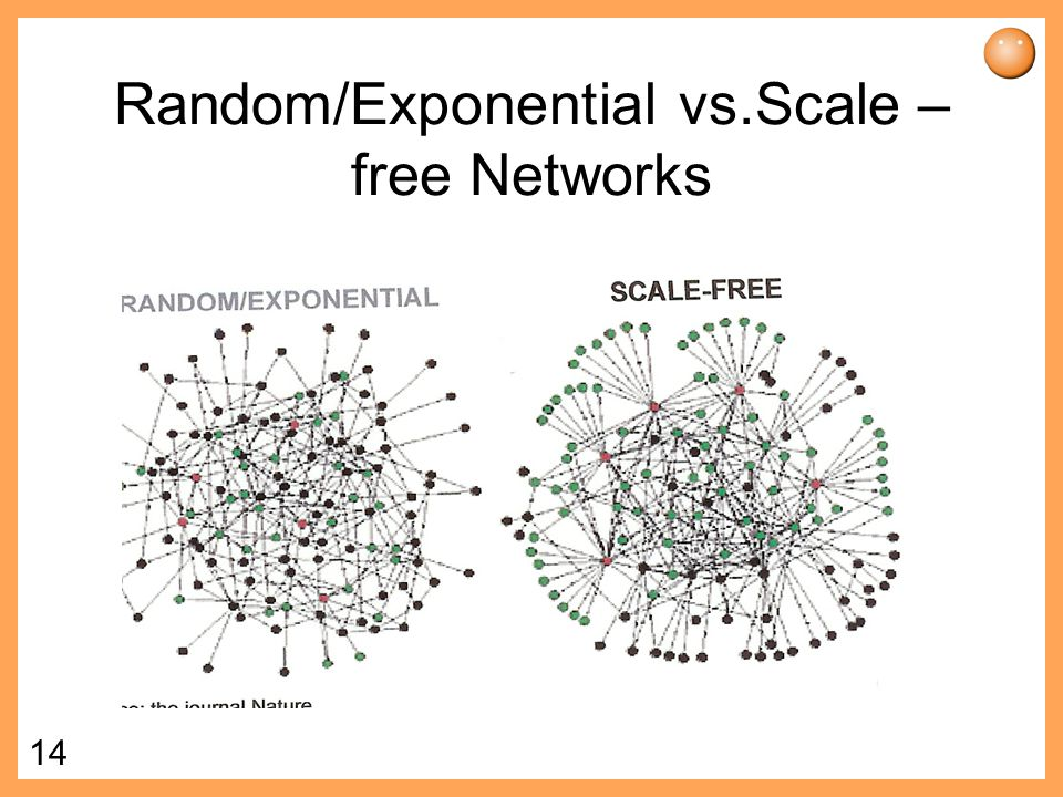 Random/Exponential vs.Scale –free Networks