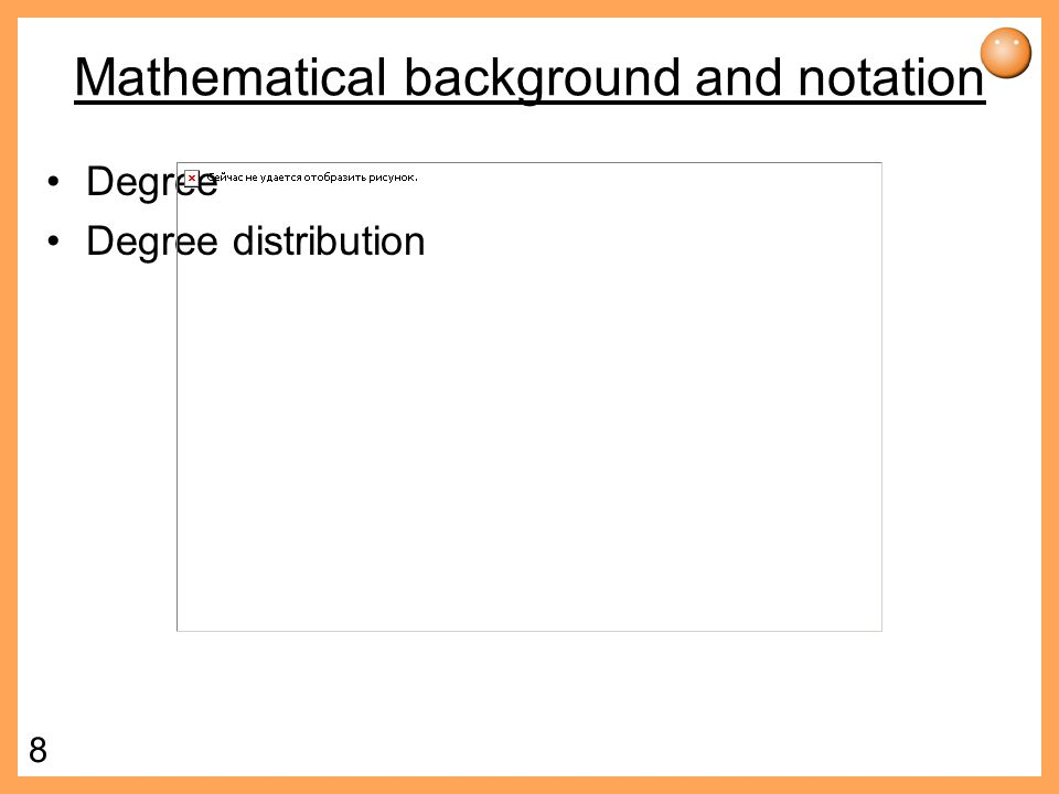 Mathematical background and notation