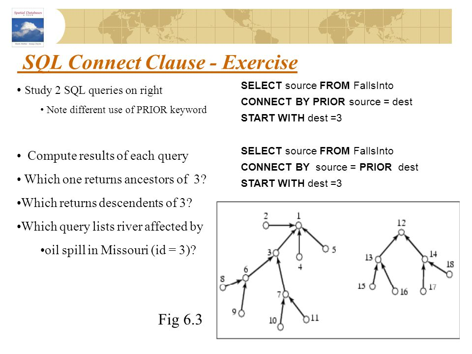SQL Connect Clause - Exercise