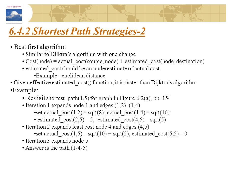 6.4.2 Shortest Path Strategies-2