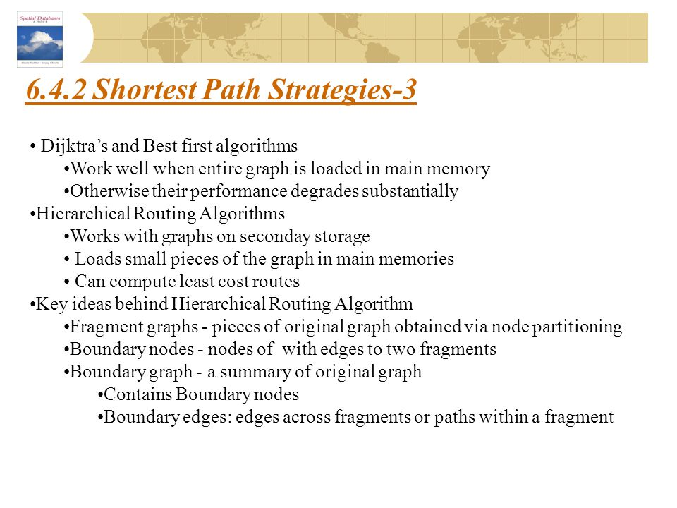 6.4.2 Shortest Path Strategies-3