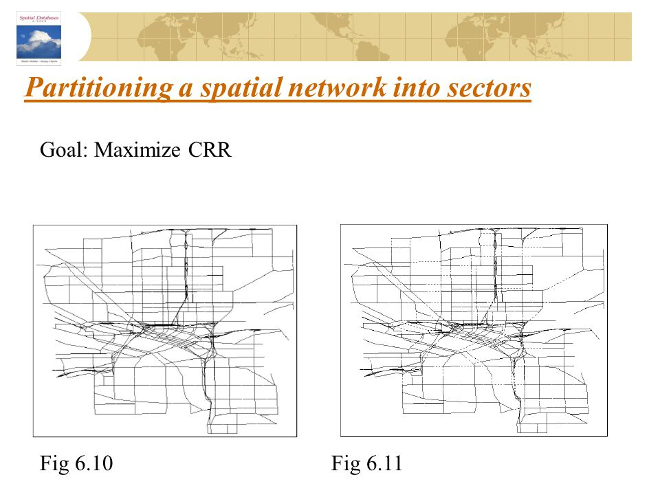 Partitioning a spatial network into sectors