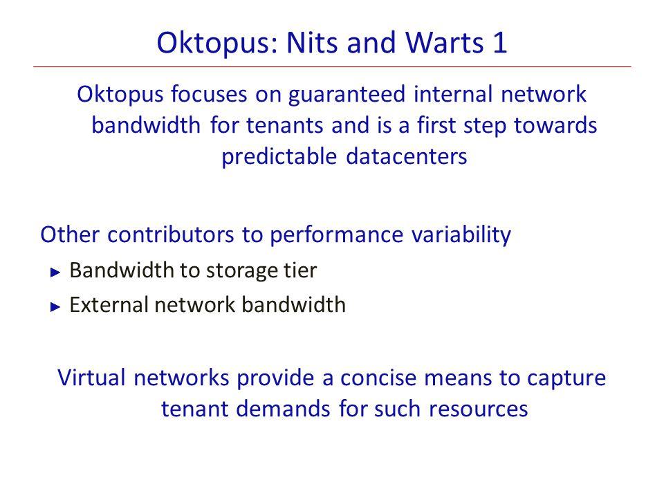 Oktopus: Nits and Warts 1