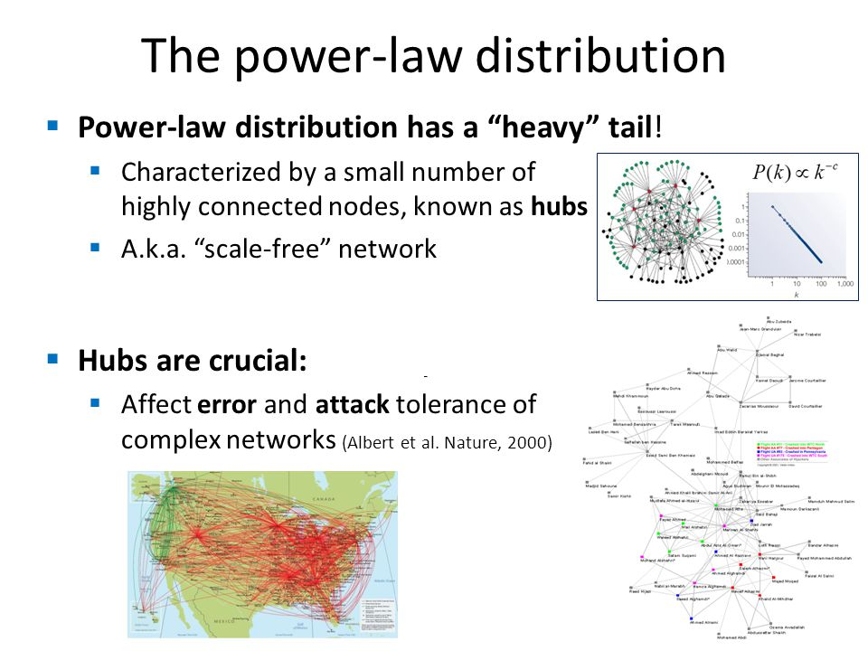 The power-law distribution