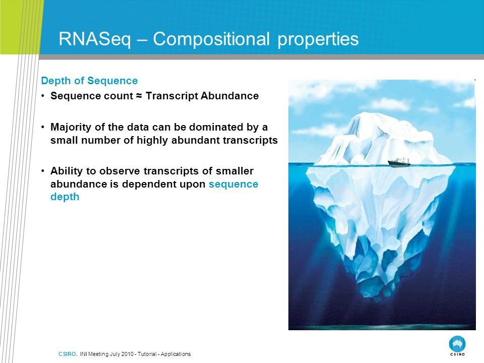 RNASeq – Compositional properties