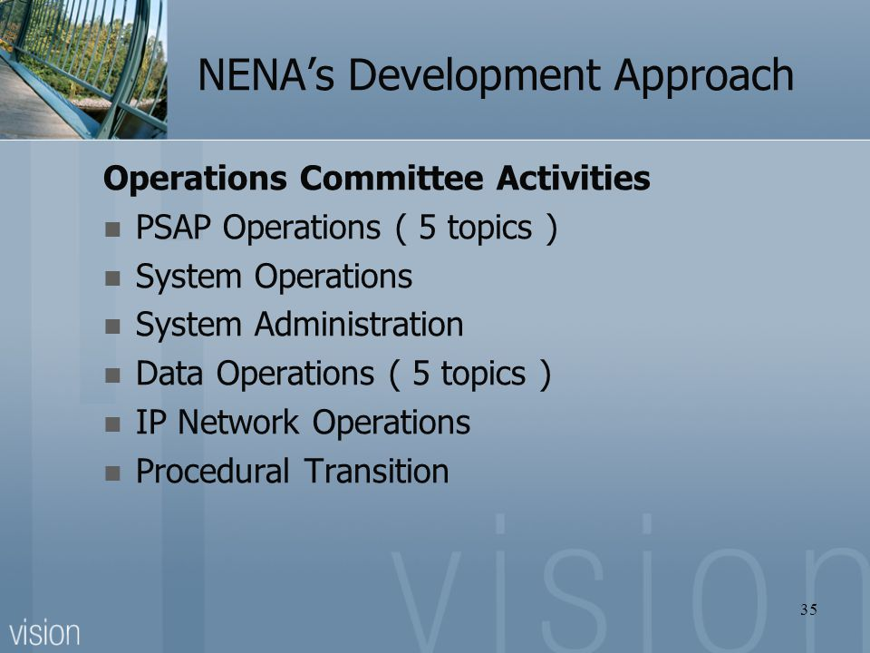 NENA's Development Approach