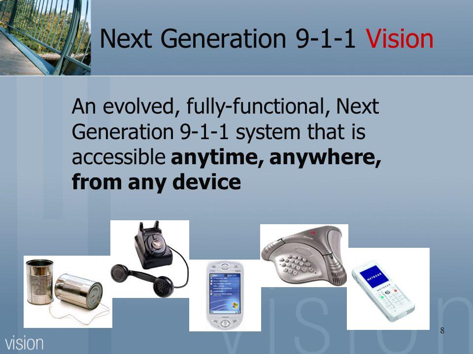Next Generation 9-1-1 Vision