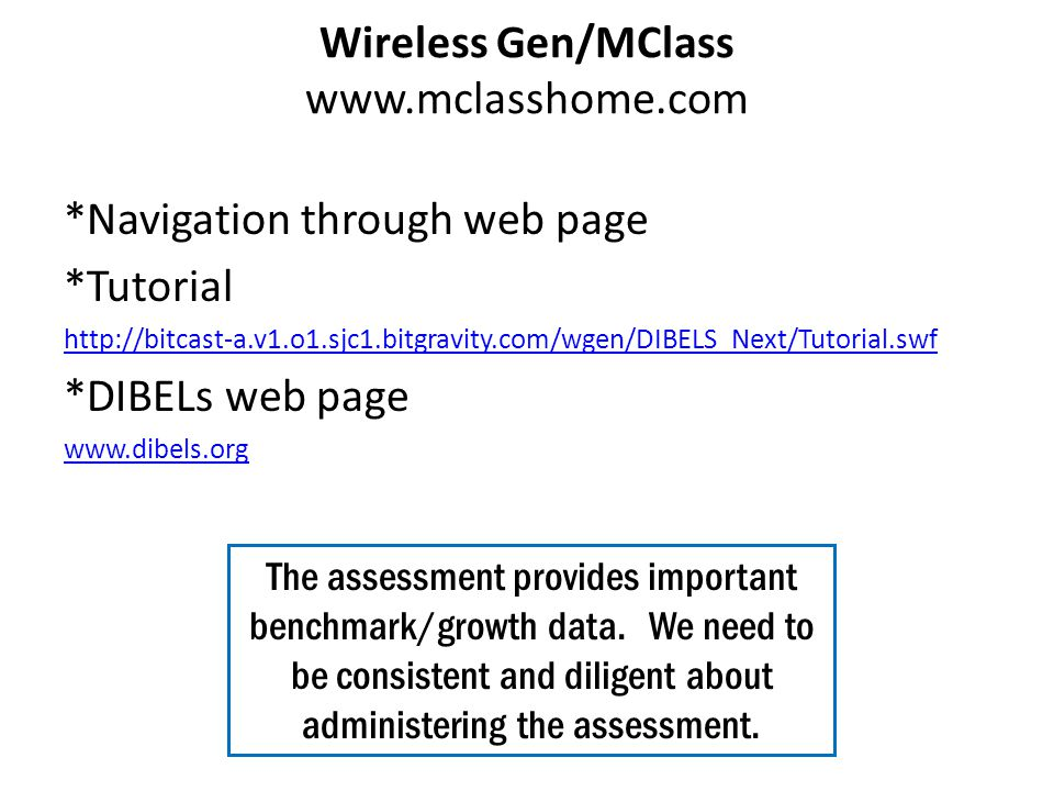 Wireless Gen/MClass