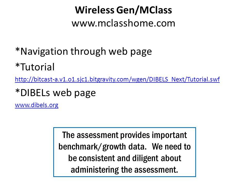 Wireless Gen/MClass www.mclasshome.com