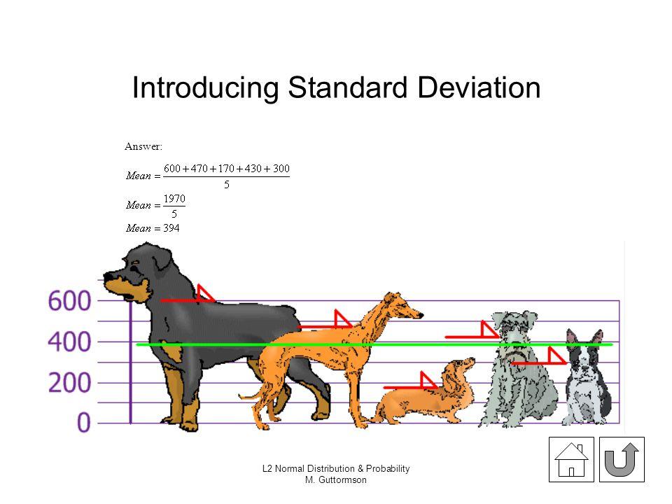 Introducing Standard Deviation