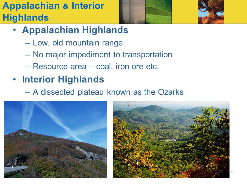 Appalachian & Interior Highlands