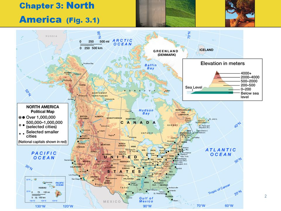 Chapter 3: North America (Fig. 3.1)
