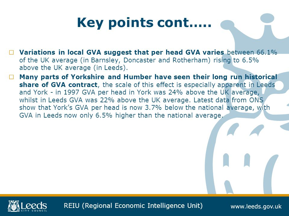Key points cont…..