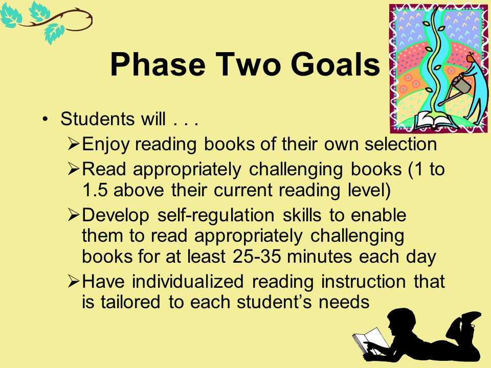 Phase Two Goals Students will . . .
