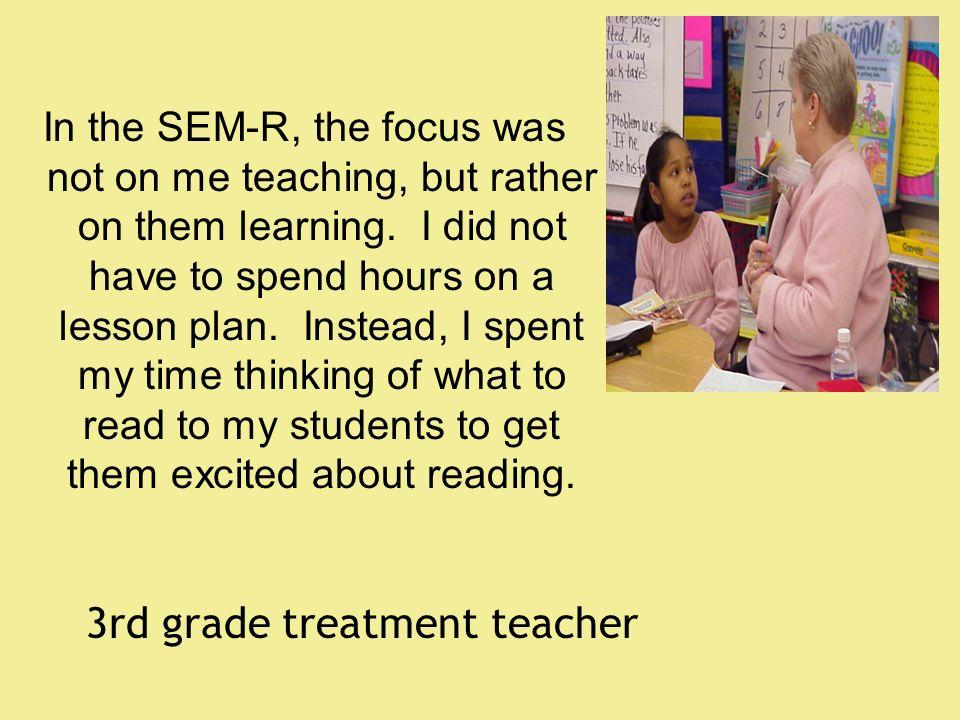 3rd grade treatment teacher