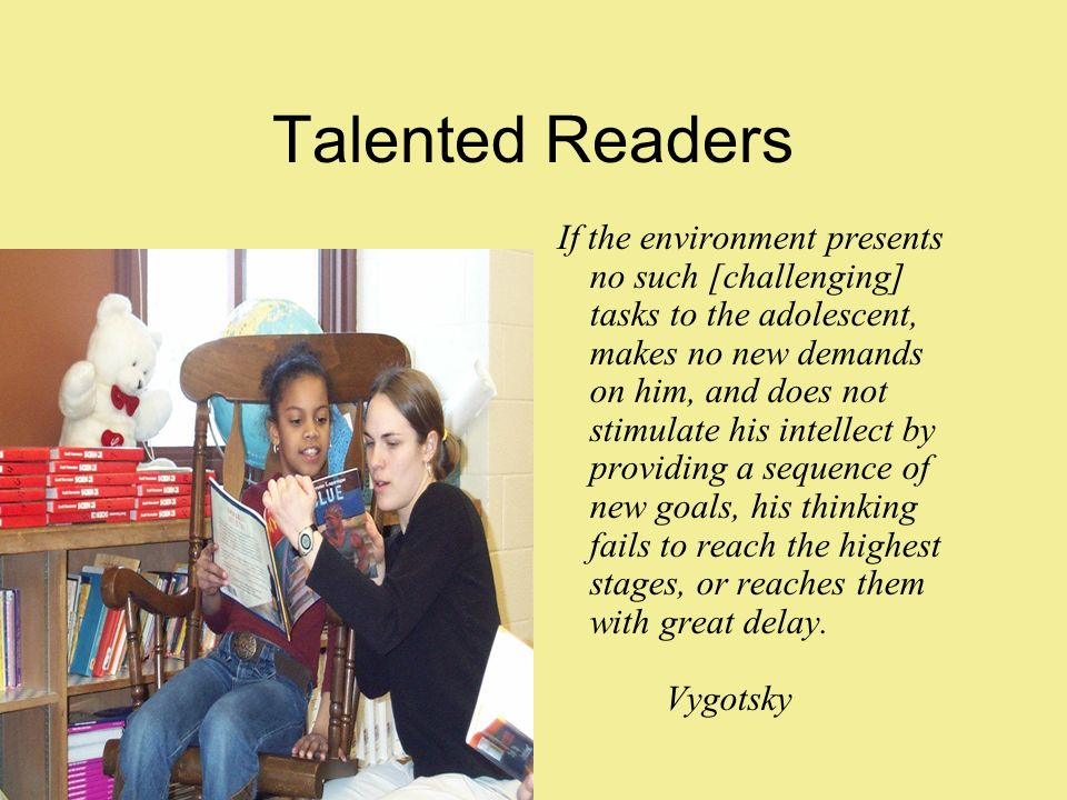 Talented Readers