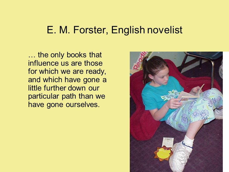 E. M. Forster, English novelist
