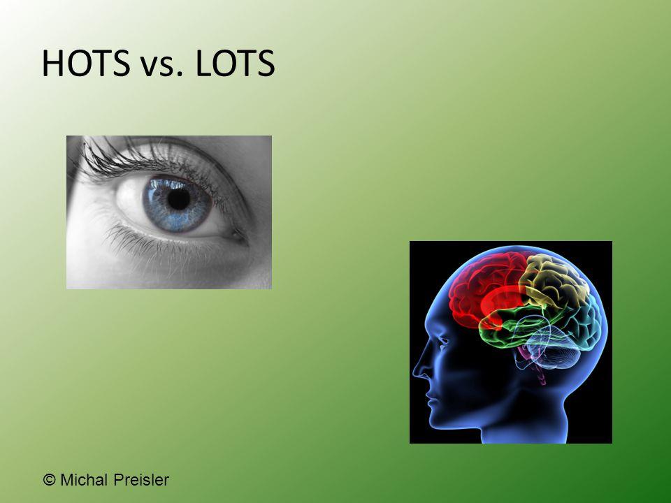 HOTS vs. LOTS © Michal Preisler