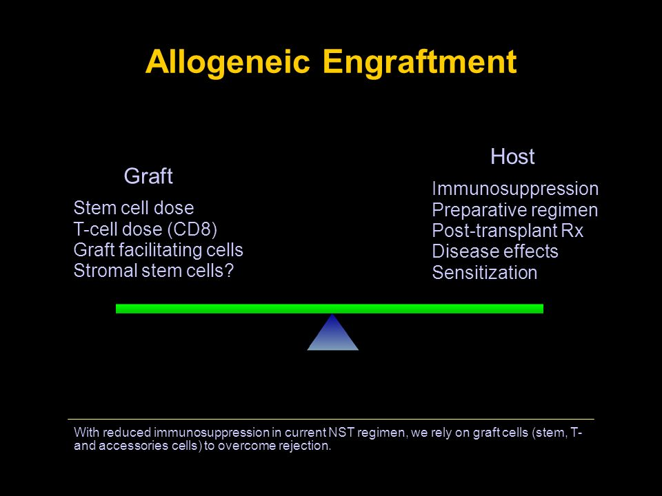 Allogeneic Engraftment