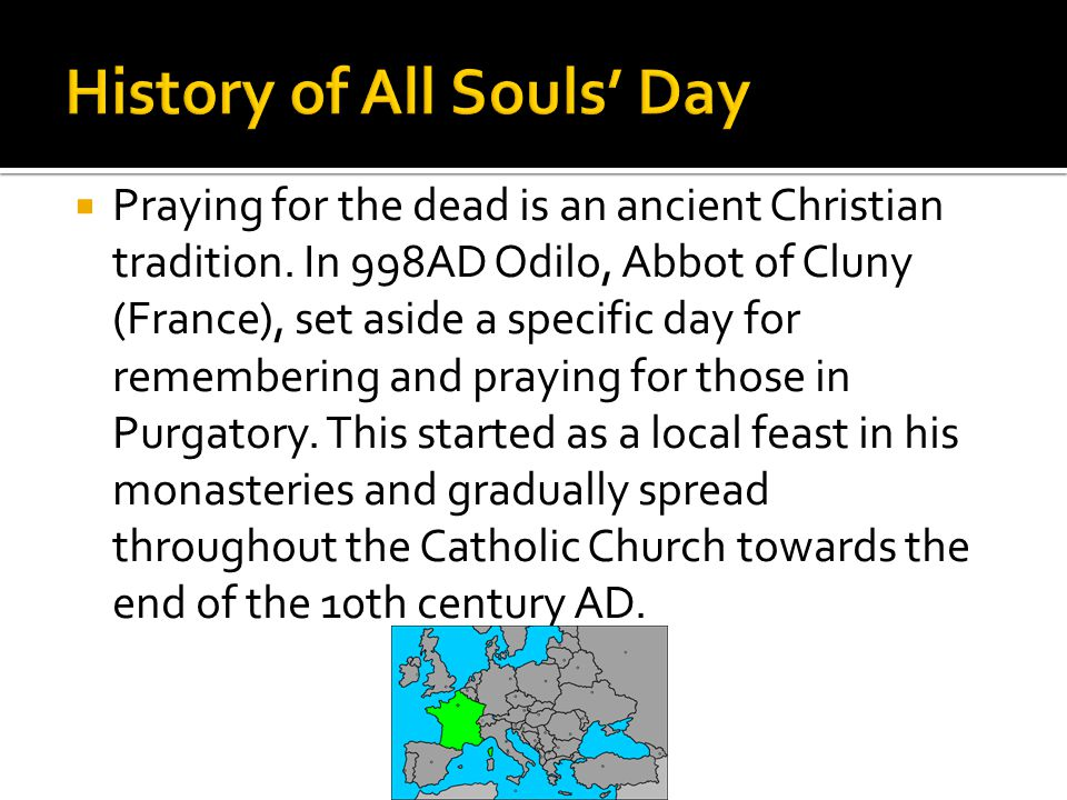 History of All Souls' Day