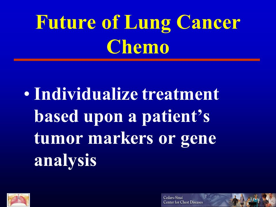 Future of Lung Cancer Chemo