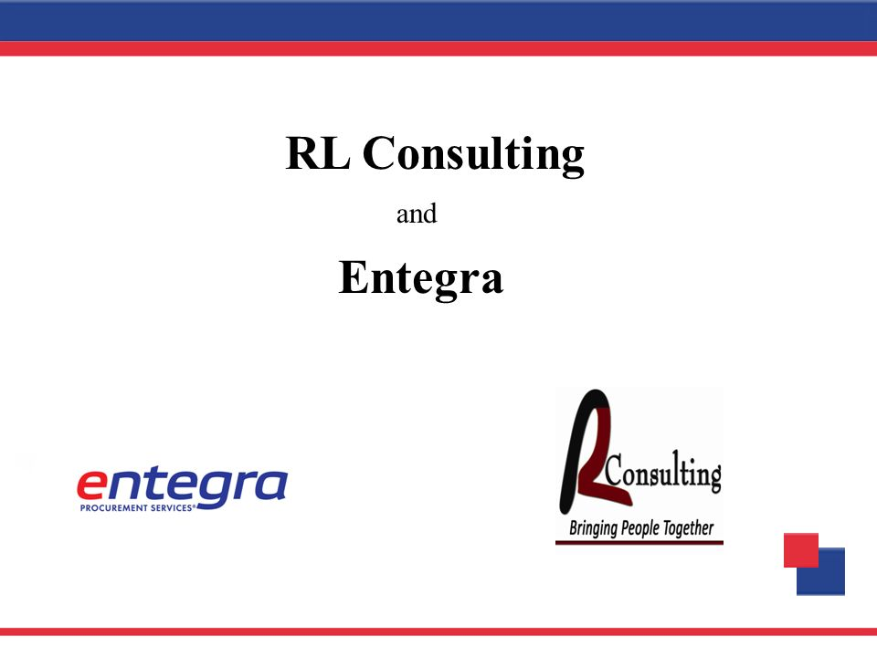 RL Consulting and Entegra