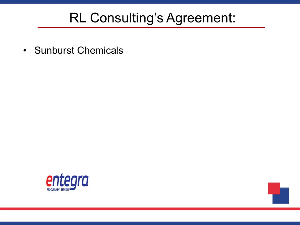 RL Consulting's Agreement: