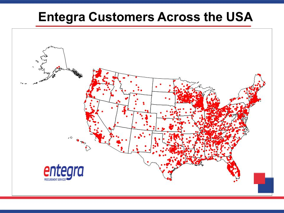 Entegra Customers Across the USA