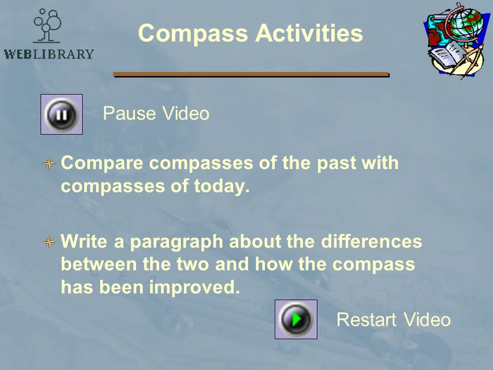 Compass Activities Pause Video