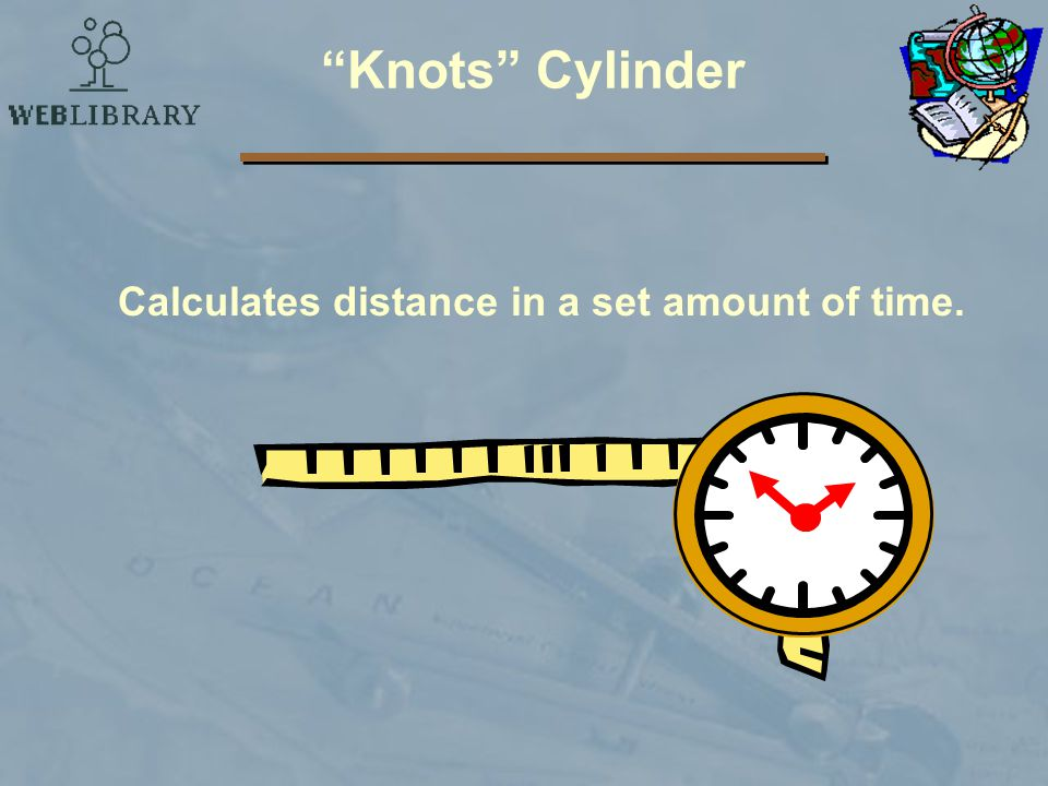 Calculates distance in a set amount of time.