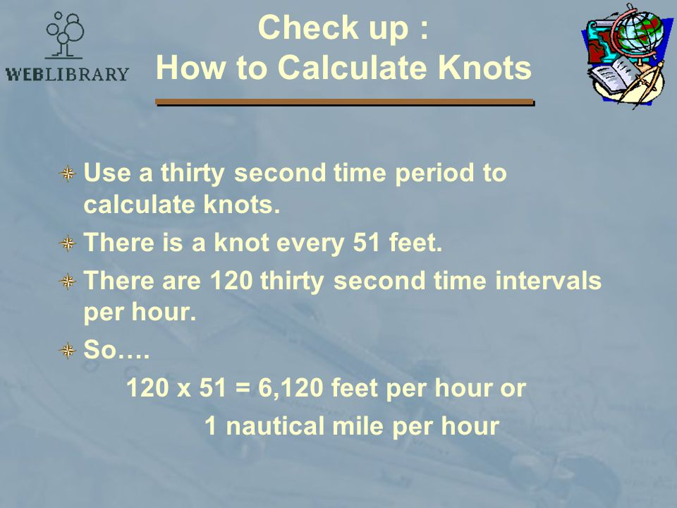 Check up : How to Calculate Knots