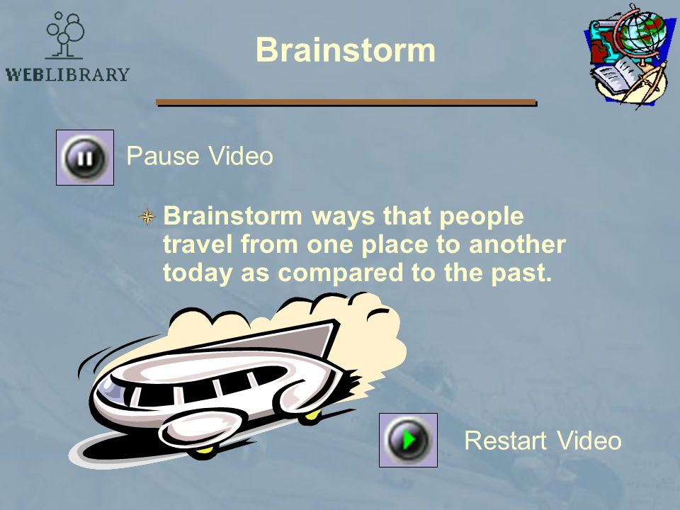 Brainstorm Pause Video