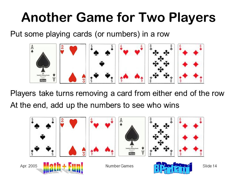 Another Game for Two Players