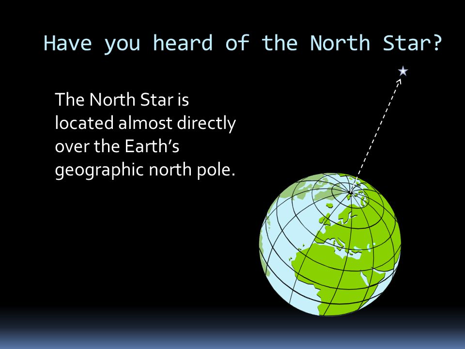 Have you heard of the North Star