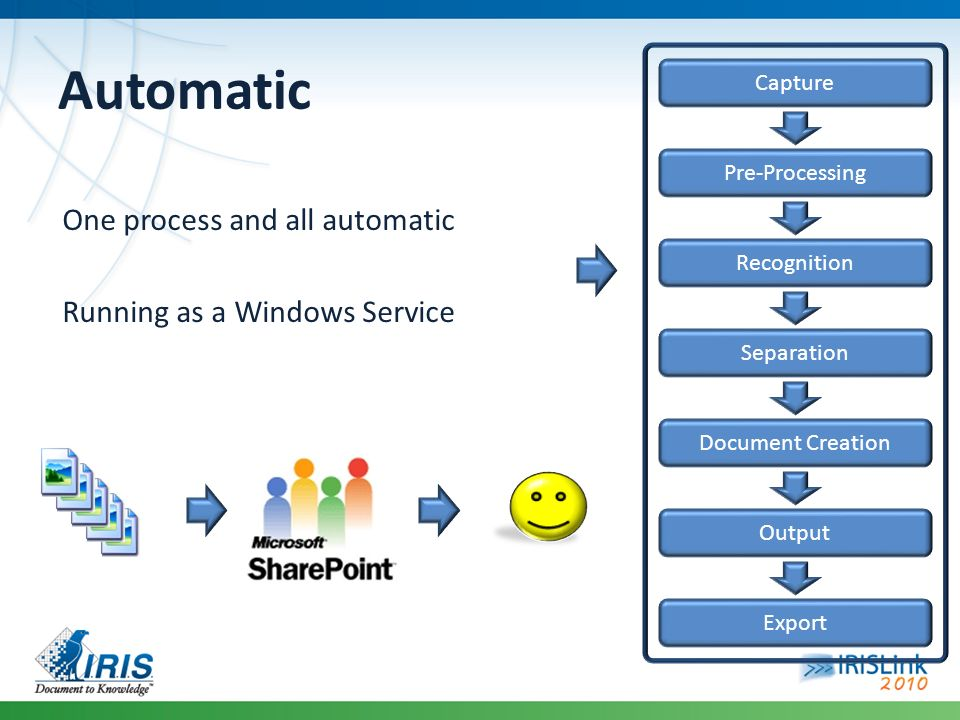 Automatic One process and all automatic Running as a Windows Service