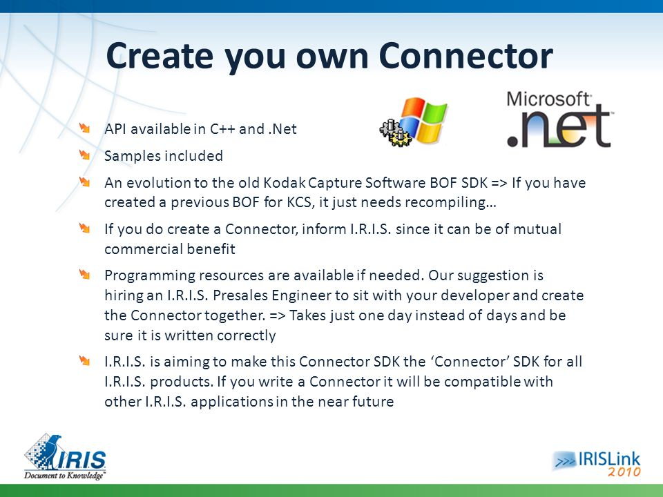 Create you own Connector