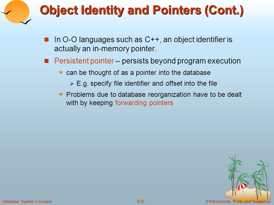 Object Identity and Pointers (Cont.)