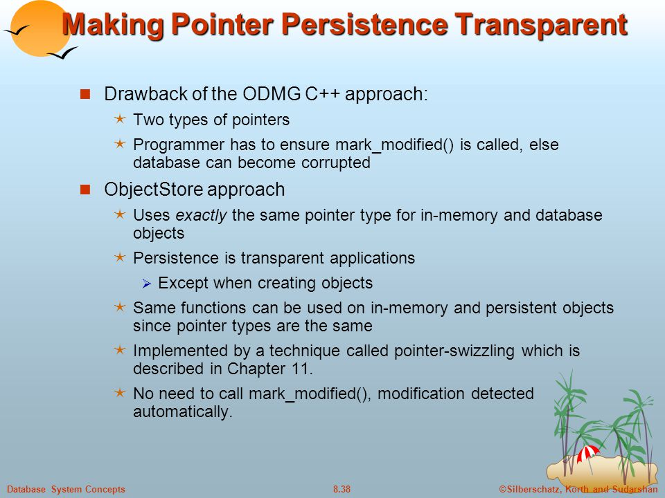 Making Pointer Persistence Transparent